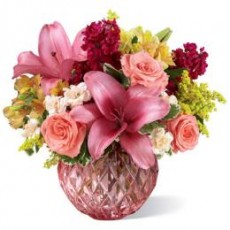 ftd pink poise bouquet flowers med 2016