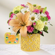 ftd brighter than bright bouquet sm