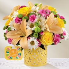 ftd brighter than bright bouquet xl