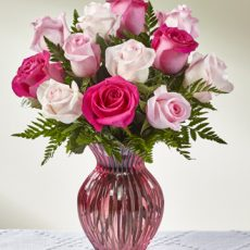 ftd happy spring mixed rose bouquet sm