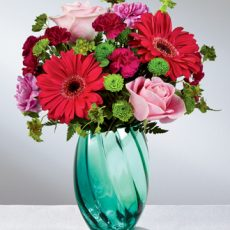 ftd spring skies bouquet sm
