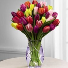 ftd spring tulips bouquet xl