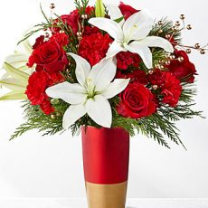 ftd holiday celebration bouquet 2017 lg