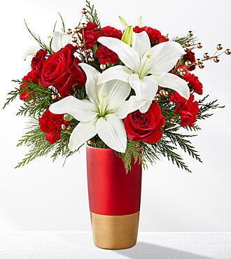 ftd holiday celebration bouquet 2017 md
