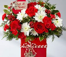 ftd holiday cheer bouquet 2017 md