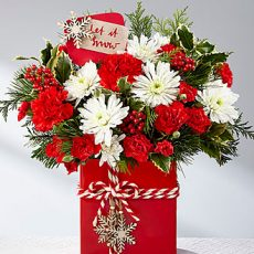 ftd holiday cheer bouquet 2017 sm