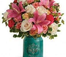 teleflora country skies medium