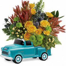 teleflora timeless chevy pickup large